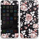 Apple iPhone 6 Folie Skin Sticker aus Vinyl-Folie Aufkleber Rosen Blumen Muster