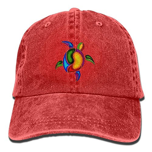 FBGVFD Tortoise Sea Turtle Baseball Caps Retro Low Profile Fitted Hats for College Students Ball Cap