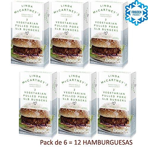 LINDA McCARTNEY Hamburguesas Vegetarianas Pack de 6