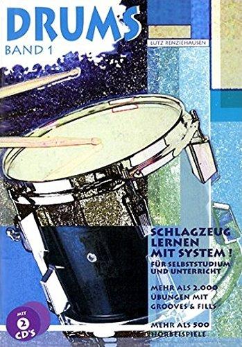 Drum Band (Drums. Schlagzeug lernen mit System!: Drums, m. je 2 CD-Audio, Bd.1, Mehr als 2000 Übungen mit Grooves & Fills, m. 2 CD-Audio)