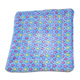 TOPmountain Pet Dog Cat Puppy Bed Cushion Mat Paded Keep-Warm Large Medium Small Soft Fleece Kennel