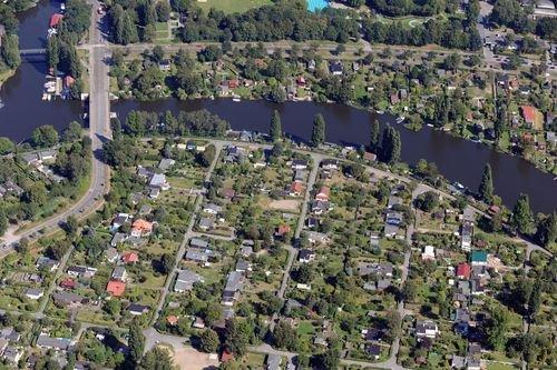 MF Matthias Friedel - Luftbildfotografie Luftbild von Ausschläger Billdeich in Billbrook (Hamburg), aufgenommen am 19.08.09 um 11:47 Uhr, Bildnummer: 5442-75, Auflösung: 6048x4032px = 24MP - Fotoabzug 50x75cm