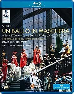 Verdi: Un Ballo In Maschera [Parma 2011] [Francesco Meli, Vladimir Stoyanov, Kristin Lewis] [C Major: 724304] [Blu-ray] [2013] [Region Free]