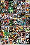 DC Covers Poster - Affiche Super Héros