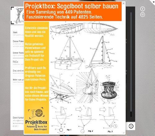 Segelboot selber bauen: Deine Projektbox inkl. 449 Original-Patenten bringt Dich mit Spaß ans Ziel! -