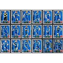 Topps Champions League Match Attax 15/16 KAA Gent Team Base Set 2015/2016 Including Star Player & Duo Trading Cards
