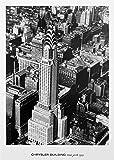 Edificio Chrysler, Nueva York, 1935. Foto en blanco y negro Póster de Impresión (16