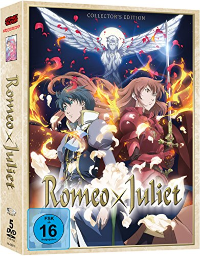 Romeo x Juliet - Gesamtausgabe - DVD Box (5 Discs) -