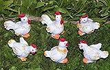 6´er Set knuffige klebe Hahn/Hühner 3 cm top Frühjahrs 0stern DEKO 5026