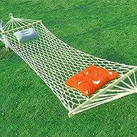 XY&CF Hamaca que acampa al aire libre suave del recorrido de la hamaca del paño del algodón 200 * 80cm (Color : F)