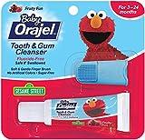 Orajel Baby Tooth & Gum Cleanser Sesame Street Mixed Fruit -- 0.7 oz