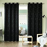 Best Home Fashion Thermal Blackout Curtains - Best Home Fashion Gold Star Print Thermal Insulated Review