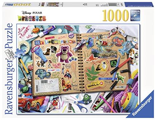 Ravensburger 19816.-Disney Pixar Scrapbook Puzzle, 1000Teile -
