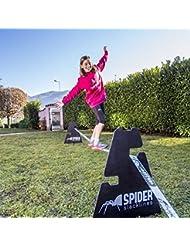 SPIDER SLACKLINES Outdoor Kit White 15 slackline