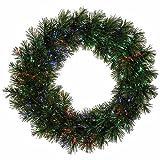 76,2cm beleuchteter Faser Künstliche Kiefer Weihnachtskranz,–Multi Lichtern