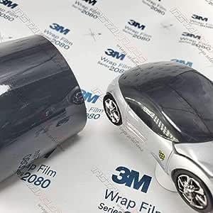 3m 1080 Gloss Black G12 Vinyl Car Wrap Film Sample 3in X 5in Auto
