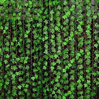 ALCYONEUS 8ft Artificial Ivy Vine Leaves Fake Foliage Plants DIY Home Garland Decoration