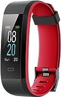 YAMAY Fitness Tracker,Wasserdicht IP68 Fitness Armband mit Pulsmesser 0,96 Zoll Farbbildschirm Smartwatch...