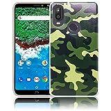 thematys Bq Aquaris X2 / X2 PRO Camouflage Silicone case