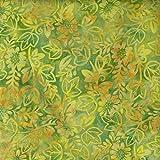 Fabric Freedom Gelb Summer Design 100% Baumwolle Bali Batik Tie Dye Muster Stoff für Patchwork, Quilten &,–(Preis Pro/Quarter Meter)