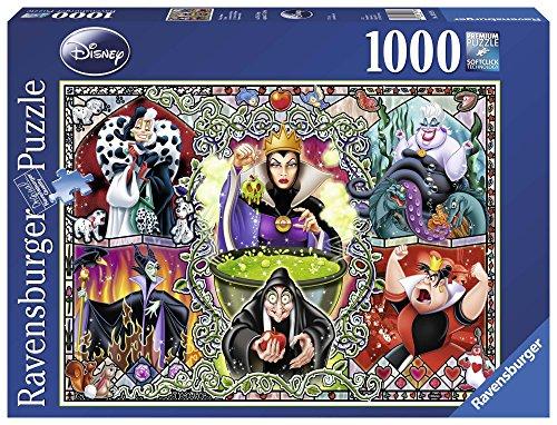 Disney - Puzzle Las villanas, 1000 piezas (Ravensburger 19252)