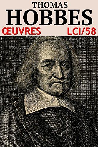 Thomas Hobbes - Oeuvres: lci-58