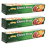 #4: Cleen Wrap 30 Mtr Pack Of 3 (30X3=90Mtrs)