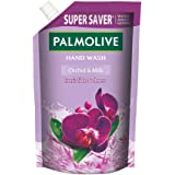 Palmolive Naturals Black Orchid & Milk Liquid Hand Wash, 750ml Refill Pack, Wash Away Germs, Refreshing Fragrance