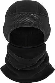 Ear Warmers Hat Neck Warmer Set Fleece Neck Gaiter Warmer Winter Windproof Face Mask Wind Proof Cap for Men Women,Perfect for