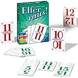 Ravensburger Elfer raus gra karciana, gra towarzyska 2-6 graczy, gra od 7 lat, dla dzieci i dorosłych