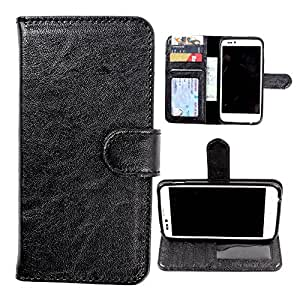 For Lenovo Vibe K5 Plus - DooDa Quality PU Leather Flip Wallet Case Cover With Magnetic Closure, Card & Cash Pockets