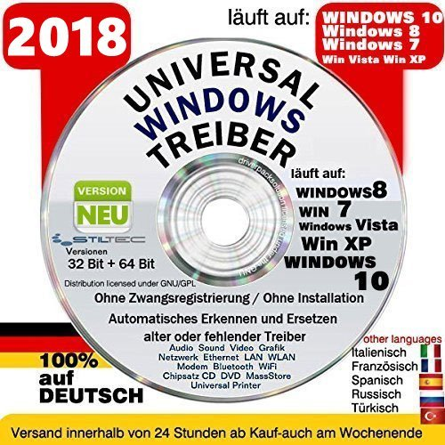 Recovery & Repair CD DVD für WINDOWS 10 Windows 8 - Win 7 - Vista - XP 32 & 64 bit Sony uvm Version 2018✔ ORIGINAL von STILTEC © (Sony Windows Xp-laptop-notebooks)