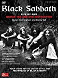 Black Sabbath - Riff by Riff: Your Guide to the Guitar Style and Techniques of Black Sabbath [With CD/DVD]