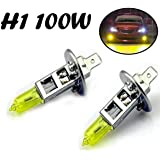2x H1 Aqua Vision 12v 100w P14 5s Gelb Yellow Halogen Lampen 2 Stück Jurmann Gewerbe Industrie Wissenschaft