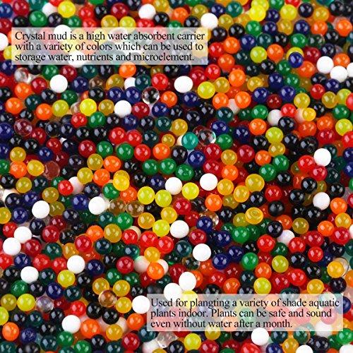 Ansicht vergrößern: Wasserperlen Gelperlen Aquaperlen Deko Aqualinos Hydroperlen Für Die Bewässerung Der Pflanzen 2000pcs(Zufällige Farbe)