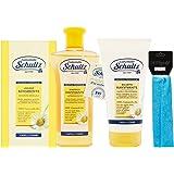 Schultz - linea trattamento cappelli,Lozione Schiarente 200 ml,Shampoo Ravvivante Ultra delicato,Balsamo Ravvivante Capelli C