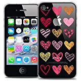 Caseink - Coque Housse Etui pour Apple iPhone 4/4s [Crystal HD Collection Sweetie...