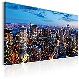 murando - Acrylglasbild New York 60x40 cm - Bilder Wandbild - modern - Decoration - NY Stadt City d-B-0079-k-d