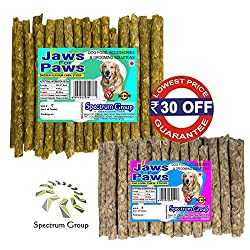 Spectrum Group An ISO 9001:2015 & HACCP Accredited Company - Money Saver Combo Pack Chicken + Calcium Munchies 450 g / 40 sticks (2 Packs)