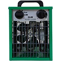 LightHouse 2kw Greenhouse Heater, Green