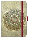 """Premium Timer Big """"Eidechsenmandala"""" 2018: Hochwertiger Buchkalender. Terminplaner mit Wochenkalendarium, Gummiband und Stifthalter. 12 x 17 cm"""