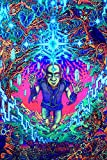 #10: 100Yellow Neon Trippy Smoking Weed Poster For Bars, Clubs And Hostel Rooms