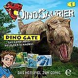 Kapitel 1: Das Geheimnis des T-Rex-Schädels (Das Hörspiel zum Comic)