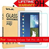 Galaxy Tab Pro 10.1 Glass Screen Protector, (T520) AnoKe [Lifetime Warranty](0.3mm 9H) Tempered Film Sheild For Samsung Galaxy Tab Pro 10.1 T520 Glass