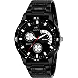 PIRASO Analogue Black, Blue & White Dial Men's Watch (Pack of 3)