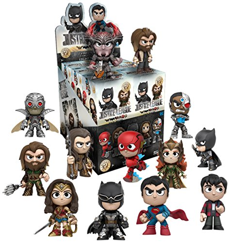 Funko - Figurine DC Comics Justice League Movie Mystery Minis - 1 boîte au hasard / one Random box - 0889698141383