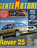 Scarica Libro Gente Motori 11 novembre 1999 Renault Scenic 1 6 16V RXT VW Golf TDI GTI (PDF,EPUB,MOBI) Online Italiano Gratis
