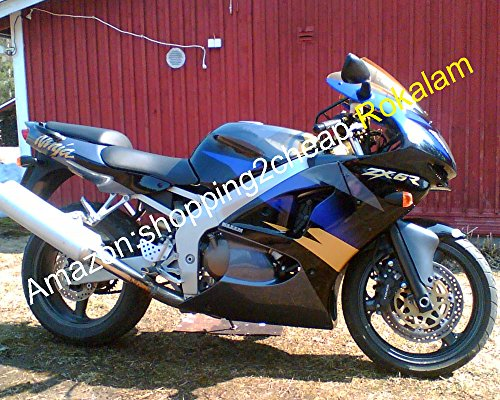 Hot Sales, Carénages kit pour Kawasaki Ninja Zx6r Zx-6r 98 99 636 ZX 6R 1998 1999 Zx-636 Sports Racing Moto Carénage Ensemble