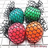 Republe Anti-Stress-Ball Grape-Ball-Spaß Splat Grape Venting Toy Squeeze Reliever Spielzeug Geräte zufällige Farbe