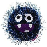 Gigwi MD Ball Plush Friendz - Juguete para Perro, Color Negro y Azul